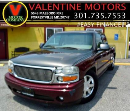2001 GMC Sierra 1500 for sale in District Heights, MD