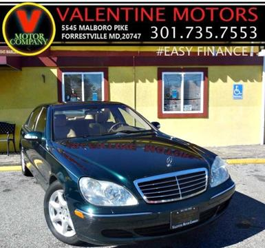 2004 Mercedes-Benz S-Class for sale in District Heights, MD