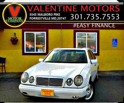 1999 mercedes benz e class for sale for Mercedes benz waldorf md