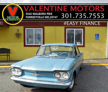 1960 Chevrolet Corvair for sale in District Heights, MD