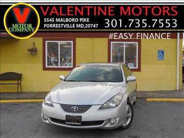 2006 Toyota Camry Solara for sale in District Heights, MD