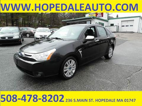 2008 Ford Focus for sale in Hopedale, MA