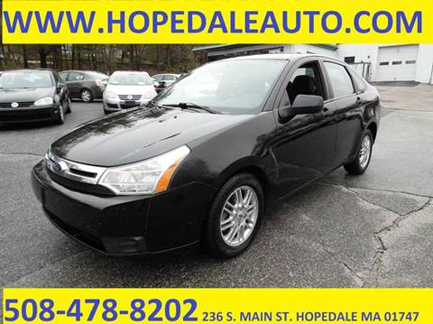 2009 Ford Focus for sale in Hopedale, MA