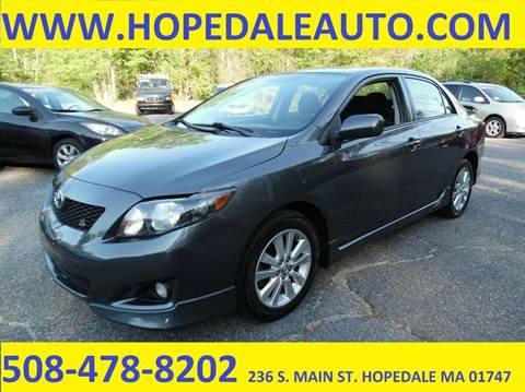 2010 Toyota Corolla for sale in Hopedale, MA