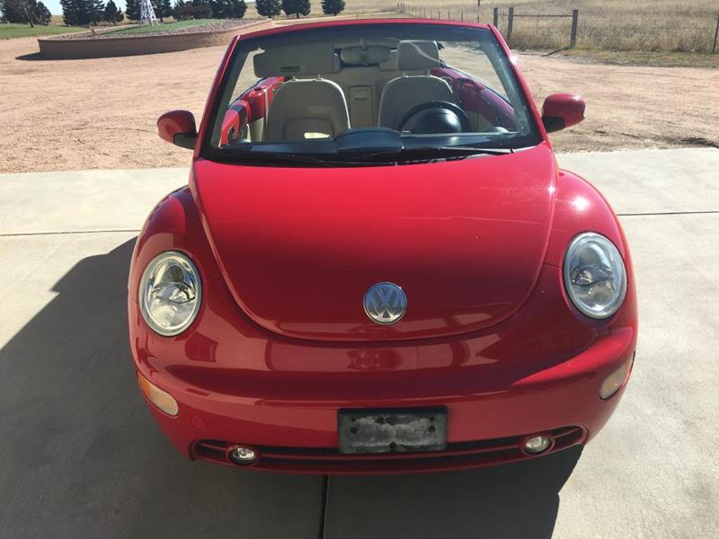 2005 Volkswagen New Beetle 2dr Gls 1 8t Turbo Convertible