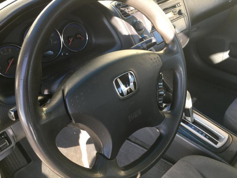 2003 Honda Civic Lx 4dr Sedan In Colorado Springs Co