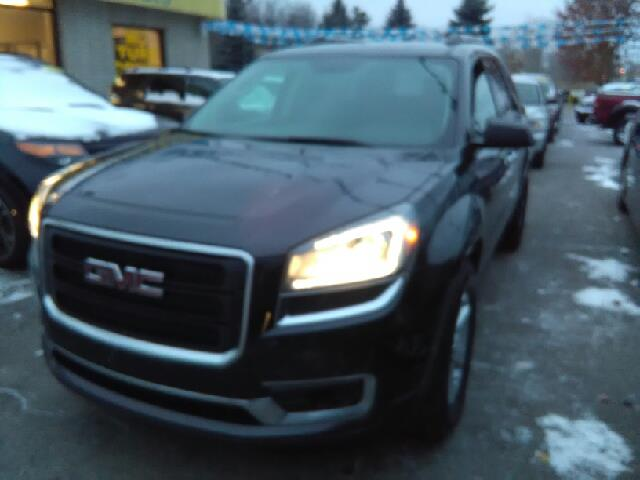 2014 GMC ACADIA SLE-2 4DR SUV gray carfax 1 owner fwd and cloth my my my what a deal what a