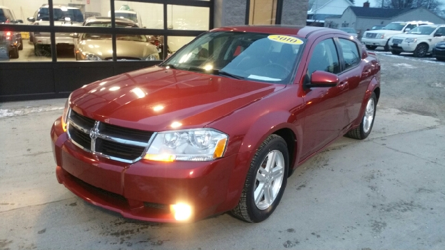 2010 DODGE AVENGER RT 4DR SEDAN inferno red crystal pearl with the savings on fuel its like yo