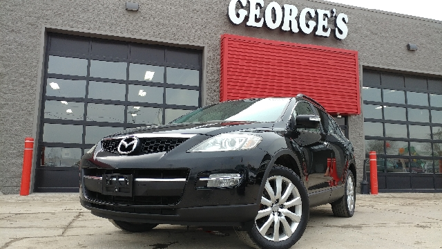 2008 MAZDA CX-9 TOURING AWD 4DR SUV sparkling black mica carfax 1 owner and no accidents awd qui