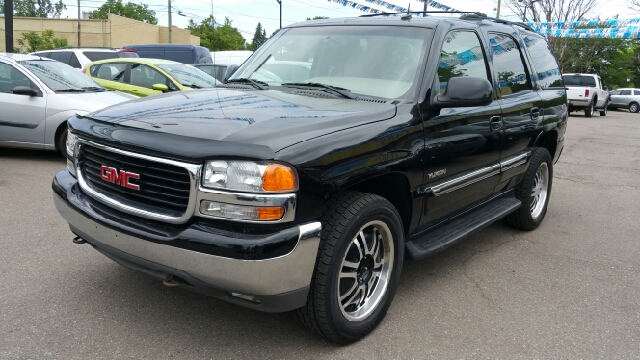2003 GMC YUKON SLT 4WD 4DR SUV carbon metallic 4wd what a terrific deal wow what a sweetheart