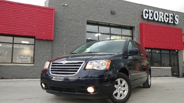 2010 CHRYSLER TOWN AND COUNTRY TOURING PLUS 4DR MINI VAN blackberry pearl 2-stage unlocking doors