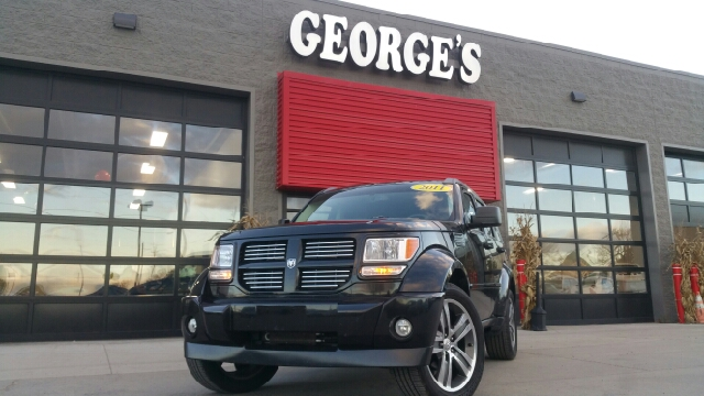 2011 DODGE NITRO DETONATOR 4X4 4DR SUV brilliant black crystal pearl carfax no accidents 40l ex