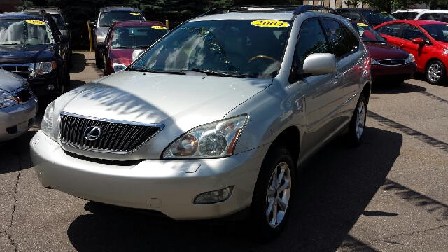 2004 LEXUS RX 330 BASE AWD 4DR SUV milennium silver metallic carfax no accidents awd and leather