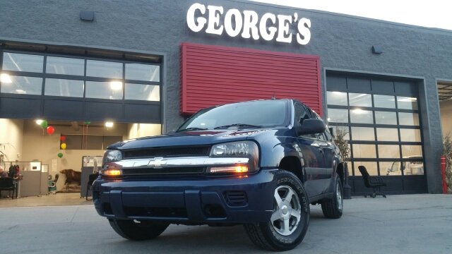 2005 CHEVROLET TRAILBLAZER LS 4DR SUV superior blue metallic carfax no accidents are you ready f