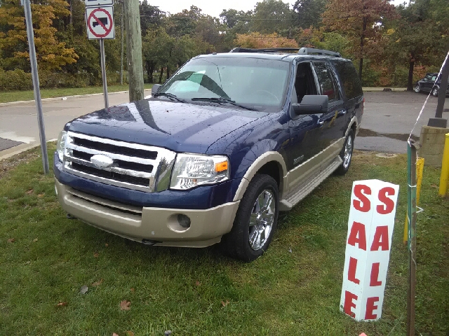 2007 FORD EXPEDITION EL EDDIE BAUER 4DR SUV 4X4 blue 4wd a great deal in flat rock wow what a s