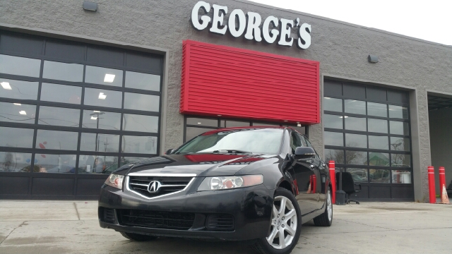 2004 ACURA TSX BASE 4DR SEDAN nighthawk black pearl carfax no accidents controls are really dial