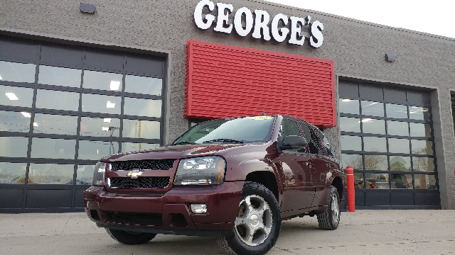 2006 CHEVROLET TRAILBLAZER LT 4DR SUV 4WD bordeaux red metallic 17 inch alloy wheels 4wd selecto