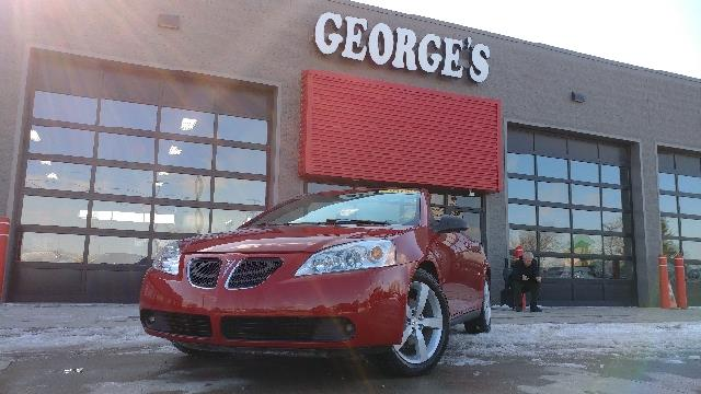2007 PONTIAC G6 GT 2DR CONVERTIBLE crimson red 2-stage unlocking doors abs - 4-wheel airbag dea