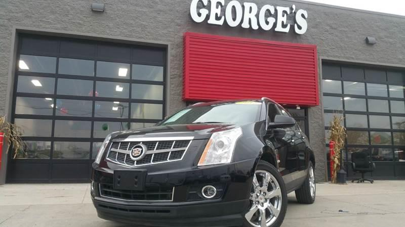 2012 CADILLAC SRX PREMIUM COLLECTION AWD 4DR SUV black raven carfax no accidents what else can yo