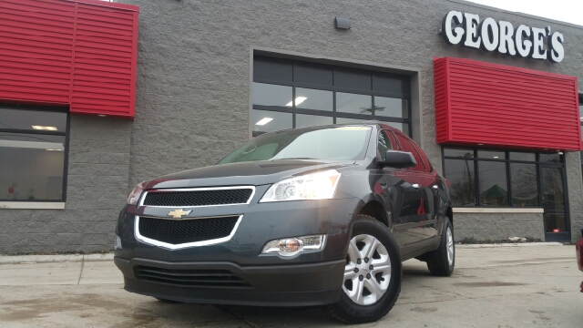 2011 CHEVROLET TRAVERSE LS 4DR SUV cyber grey metallic abs - 4-wheel airbag deactivation - occup