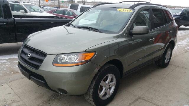 2008 HYUNDAI SANTA FE GLS AWD 4DR SUV natural khaki metallic awd and cloth happy-go-lucky cabin