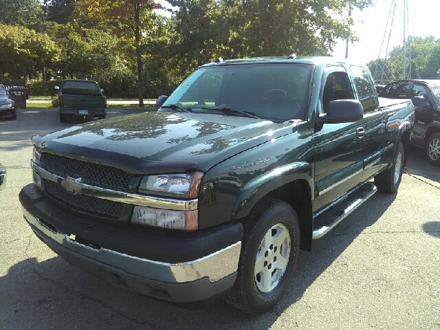 2005 CHEVROLET SILVERADO 1500 Z71 4DR EXTENDED CAB 4WD SB green carfax no accidents vortec 53l