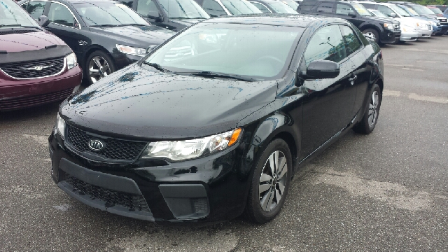 2013 KIA FORTE KOUP EX 2DR COUPE 6A aurora black pearl one owner automobile barely been kissed