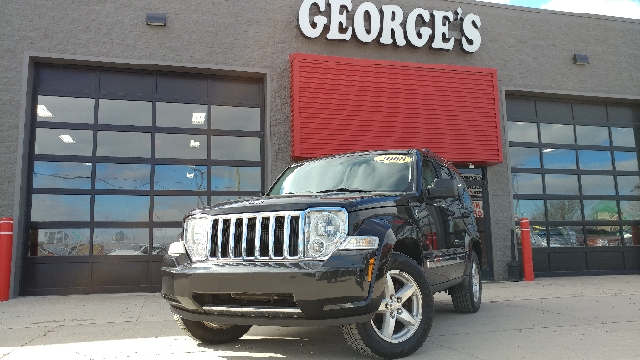2008 JEEP LIBERTY LIMITED 4X4 4DR SUV black 4wd off-road capability welcomes wanderlust the art