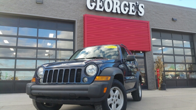2007 JEEP LIBERTY SPORT 4DR SUV 4WD midnight blue pearl 4wd 6spd manual call asap dont pay to
