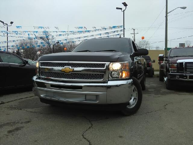2013 CHEVROLET SILVERADO 1500 LT 4X2 4DR EXTENDED CAB 65 FT black carfax 1 owner 6-speed autom