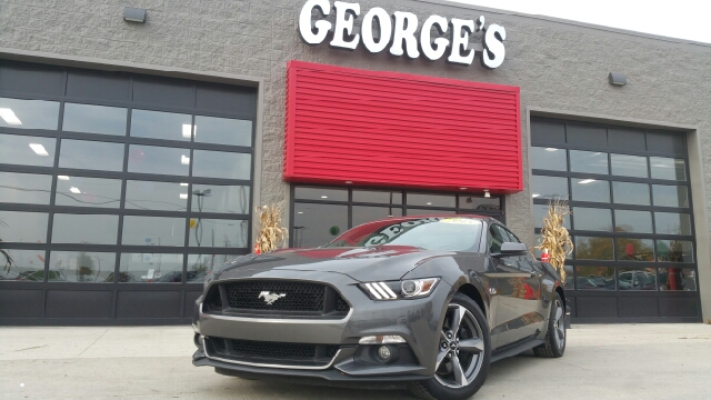 2015 FORD MUSTANG GT PREMIUM 2DR FASTBACK magnetic metallic carfax 1 owner make a mad dash for it