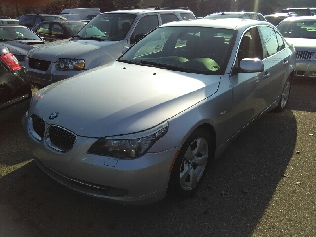 2008 BMW 5 SERIES 528I 4DR SEDAN LUXURY silver artificial leather compliant braking are glad to