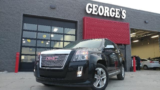 2015 GMC TERRAIN DENALI AWD 4DR SUV carbon black metallic carfax 1 owner and no accidents awd wh
