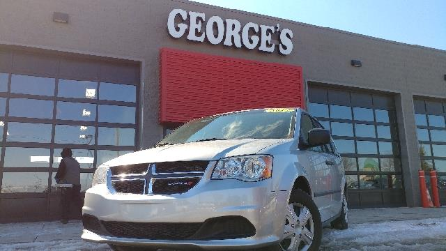 2012 DODGE GRAND CARAVAN SE 4DR MINI VAN bright silver metallic carfax 1 owner and no accidents s