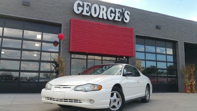 2004 CHEVROLET MONTE CARLO LS 2DR COUPE white carfax report says no accidentswow what a sweethe