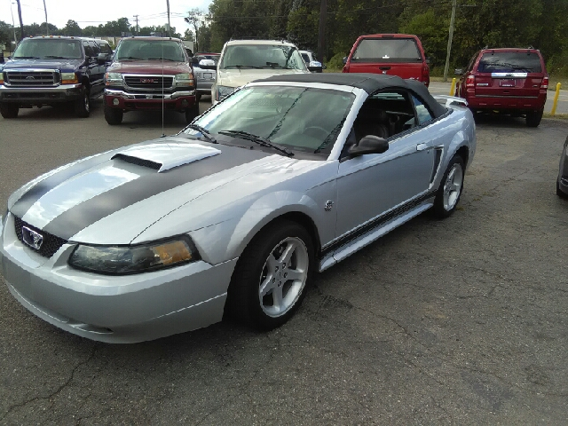 2004 FORD MUSTANG DELUXE 2DR CONVERTIBLE black detroit muscle pony power tired of the same dull