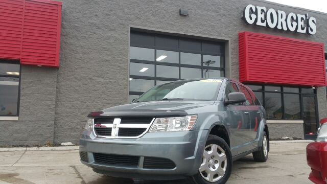 2010 DODGE JOURNEY SE 4DR SUV silver steel metallic carfax 1 owner 2-stage unlocking doors abs