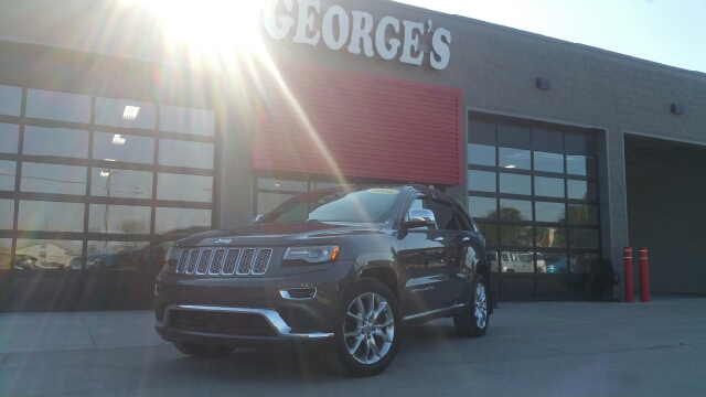 2014 JEEP GRAND CHEROKEE SUMMIT 4X4 4DR SUV granite crystal pearl 4wd wet-weather traction contro