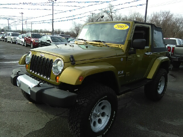 2007 JEEP WRANGLER X 4X4 2DR SUV green 4wd wow what a sweetheart what a fantastic deal wow w