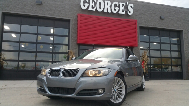 2011 BMW 3 SERIES 335I XDRIVE AWD 4DR SEDAN space grey metallic carfax no accidents awd a great