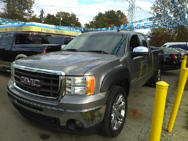 2008 GMC SIERRA 1500 SLE1 2WD 4DR EXTENDED CAB 58 FT silver carfax no accidents vortec 53l v8