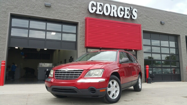 2005 CHRYSLER PACIFICA TOURING 4DR WAGON inferno red pearlcoat carfax 1 owner excellent conditio