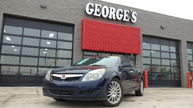 2007 SATURN AURA XR 4DR SEDAN midnight blue gets the lead out seems like turbo all the time her