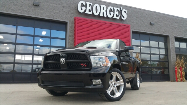 2012 RAM RAM PICKUP 1500 RT SPORT 4X2 2DR REGULAR CAB 6 black carfax 1 owner and no accidents w