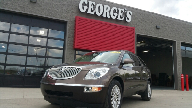 2008 BUICK ENCLAVE CXL AWD 4DR SUV cocoa metallic carfax one owner awd theres an ocean of head-