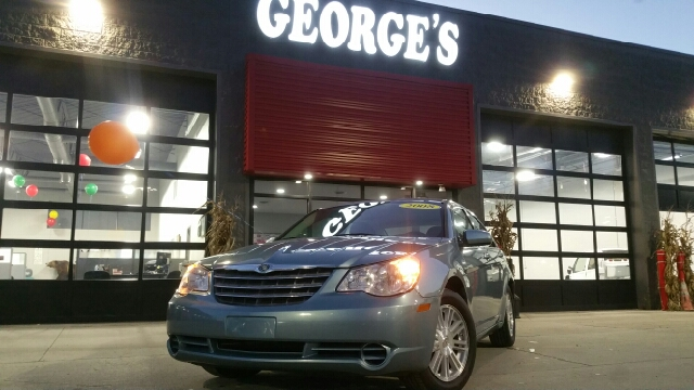 2008 CHRYSLER SEBRING TOURING 4DR SEDAN clearwater blue pearlcoat carfax 1 owner carfax no accid