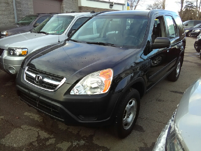 2004 HONDA CR-V LX AWD 4DR SUV black carfax 1 owner and no accidents awd what a great deal a g