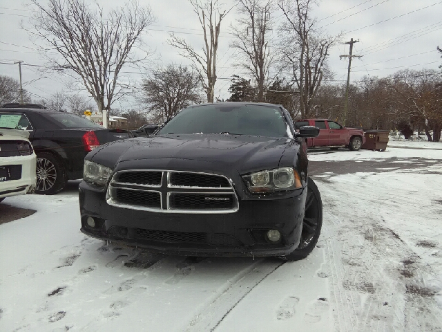 2012 DODGE CHARGER RT AWD 4DR SEDAN black carfax 1 owner and no accidents awd hold on to your s