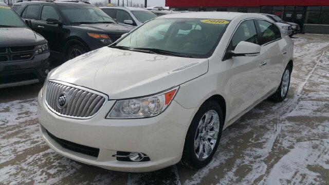 2010 BUICK LACROSSE CXL 4DR SEDAN summit white carfax 1 owner and no accidents 30l v6 sidi dohc