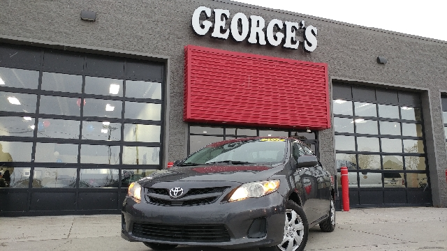 2011 TOYOTA COROLLA LE 4DR SEDAN 4A magnetic grey metallic carfax no accidents the gas savings g